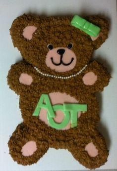 AOT Kappa Delta cake i made