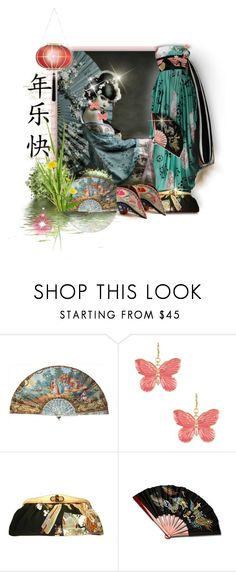 """Chinese New Year"" by maison-de-forgeron ❤ liked on Polyvore featuring Christian Dior Haute Couture, Kenneth Jay Lane, Uroco, Charlotte Olympia, women's clothing, women, female, woman, misses and juniors"