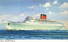 RMS Caronia.