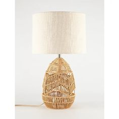 Rattan Table Lamp | Home | George