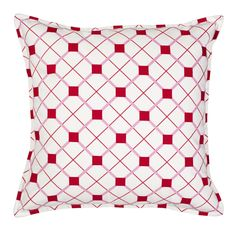 Geo Cotton Canvas Throw Pillow