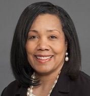 Bettina Beech, DrPH, MPH, Associate Vice Chancellor of Population Health, Executive Director of the Myrlie Evers-Williams Institute for the Elimination of Disparities, and Professor of Pediatrics and Professor of Family Medicine at the University of Mississippi Medical Center