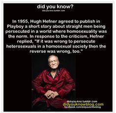 Hef seems like a good guy - Imgur
