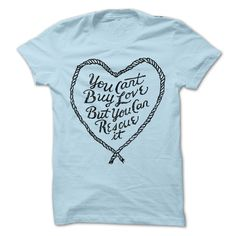 You can't buy love, but you can rescue it! Isn't that the truth? There is no love on earth like the love of a rescued animal. Wear this beautiful, handdrawn design to show that you support animal rescue!