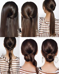 Diy Hairstyles 18893 We always get much inspiration from DIY wedding ideas and today in this post we will get into wedding hairstyles. No matter your hair is long or short, your Wedding Hairstyles Tutorial, Wedding Hairstyles For Long Hair, Hairstyle Tutorials, Hair Up Tutorials, Low Bun Hairstyles, Straight Hairstyles, Bridal Hairstyles, Indian Hairstyles, Brunette Hairstyles