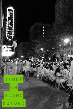 Diner en Blanc Guide for First-Timers! Everything you need to know to attend this magical event and have a blast!