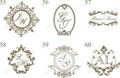 brasões Wedding Logo Design, Wedding Logos, Monogram Wedding, Monogram Logo, Wedding Stationary, Wedding Cards, Wedding Invitations, Ns Logo, Crest Logo