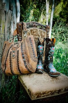 old gringo boots rule, and so does that bag! Saving for this pair on discount