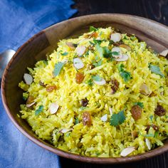 "Curried Cauliflower ""Rice"" Pilaf via @GarlicandZest"