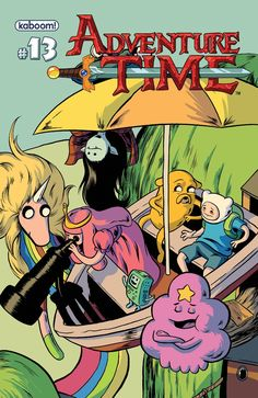 Finn, Jake And Marceline Hack The Planet In Adventure Time #13 [Review] - ComicsAlliance   Comic book culture, news, humor, commentary, and reviews