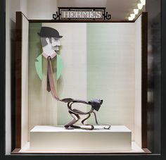 """Hermès, Stockholm, Sweden, """"Metamorphosis"""", pinned by Ton van der Veer"""