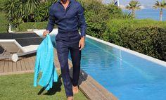 Absolute Bespoke Blog: Linos azules, Absolute Bespoke