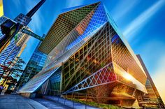 erutnevda: Library From Another Dimension by Surrealize on Flickr.  Seattle Public Library, Seattle, Washington, USA