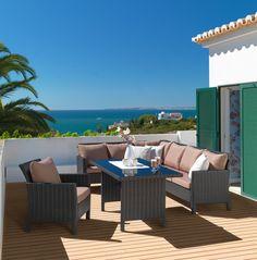 loungegarnitur von ambia garden gartenm bel pinterest. Black Bedroom Furniture Sets. Home Design Ideas