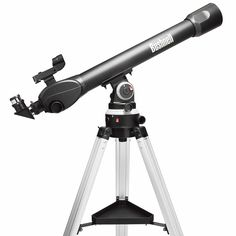 Bushnell - Voyager(R) Sky Tour? x Refractor Telescope x LCD handset Illuminated smart mount LED red dot finderscope for fast positioning S Distance Focale, Nikon, Ciel Nocturne, Bushnell Binoculars, Telescopes For Sale, Lead Acid Battery, Module, Stargazing, Shopping
