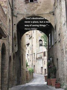 Destinations...