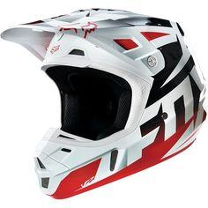 Dirt Bike Fox Racing 2016 V2 Helmet - Race | MotoSport
