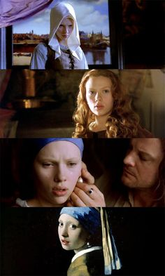 Girl with the Pearl Earring~ the single most beautiful and erotic film.