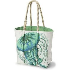 Sperry Top-Sider Sailcloth Jellyfish Medium Tote $150