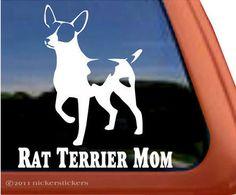 Rat Terrier Mom!  from New Rattitude, Inc. Rat Terrier Rescue