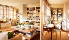 La luz. En el salón, la estancia más luminosa, una sutil persiana de bambú se…