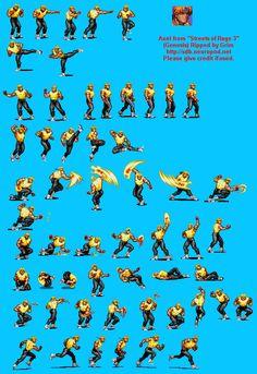 Sprite Database : Axel Nail Bat, Sprites, 2d Character, Character Creation, Sprite Database, Mega Drive Games, Pixel Design, Diorama, Drawing Reference Poses