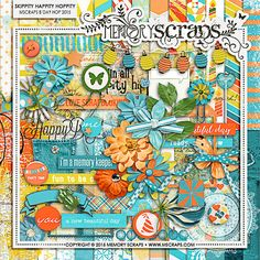 The (PU) Mscraps 2015 BDAY Hop Starts Here! - MScraps Forum | Only a few more days to pick up this fabulous PU Collaboration/blog train!!
