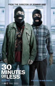 30 Minutes or Less (2011) #movie #posters