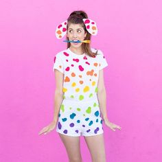 We've got THREE Lisa Frank costumes for you plus four more ideas in case you've got more friends who want in on the party!