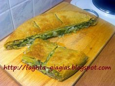 Cookie Dough Pie, Onion Pie, Spanakopita, Greek Recipes, Ethnic Recipes, Food Blogs, Bread, Cookies, Crack Crackers