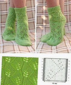 Knitting Books, Knitting Charts, Easy Knitting, Knitting Projects, Knitting Patterns, Crochet Crafts, Knit Crochet, Sewing Machine Quilting, Crochet Slippers