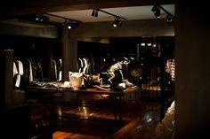 dark shopping #: FREITAG store in Shibuya by spillmann echsle architekten & Torafu Architects, Tokyo