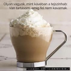 Coffee Love, Coffee Break, Wiener Melange, Miss Mom, Kakao, Macaron, Funny Quotes, Pudding, Desserts