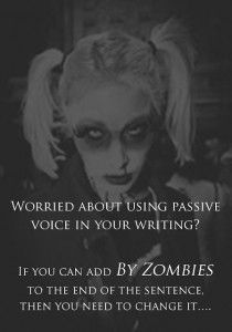 Nerd Note: How Zombies Make Your Writing Active - Prof KRG