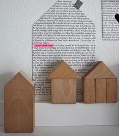 houten huisje home sweet home