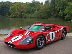 Ford GT40 MkIV, one of the most famous cars in racing history.