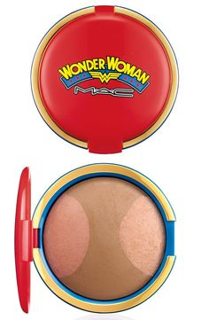 Pin for Later: 230 of the Best Collaboration Products MAC Has Ever Created MAC Cosmetics x Wonder Woman Mineralize Skin Finish in Pink Power