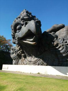 Garuda Wisnu Kencana #Gwk#Bali#Indonesia Places To Visit, Lion Sculpture, Statue, Art, Art Background, Kunst, Gcse Art, Places Worth Visiting, Sculptures