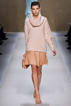Blumarine Fall 2013 Ready-to-Wear Fashion Show - Karmen Pedaru