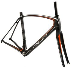 YOELEO 88 Orange Carbon Road Racing Frameset