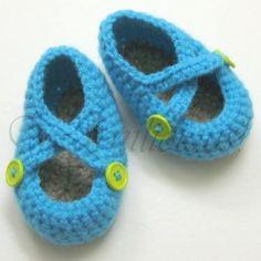 zapatitos tejidos a crochet - Buscar con Google