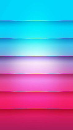 Color-Blocking Neon Wallpaper