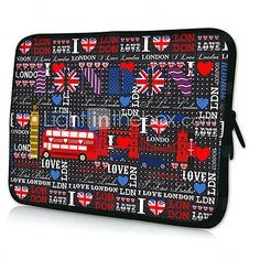 USD $ 11.99 - HUADO® 15 Red Heart Laptop Sleeve Case for MacBook Air Pro/HP/DELL/Sony/Toshiba/Asus/Acer, Free Shipping On All Gadgets!
