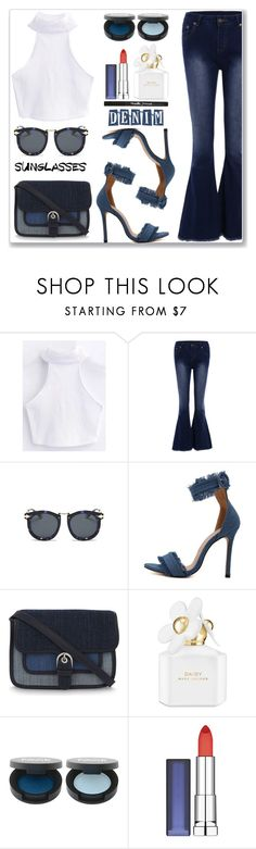"""""""Street Style :: Retro Sunglasses"""" by jecakns ❤ liked on Polyvore featuring MICHAEL Michael Kors, Marc Jacobs and Maybelline"""