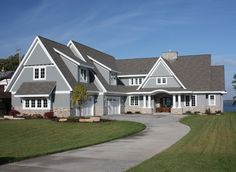 Cape cod house plans with 2 car garage with cottage style house plans with front porch with bungalow house roof design Cape Cod Style House, Cottage Style House Plans, Craftsman Style House Plans, Cottage Style Homes, Farm House, Girls Bedroom, Bedrooms, Master Bedroom, Architectural Design House Plans