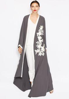 Embroidered abaya by Haya's Closet