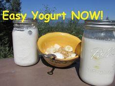 Homemade Yogurt : Homesteading Recipe - YouTube