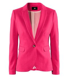 Raspberry Red Blazer from H $34.95  http://www.hm.com/us/product/06756?article=06756-A#article=06756-C