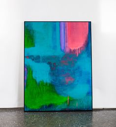 Am loving this artwork, colour are lovely - Andrew O'Brien Melbourne-based abstract artist