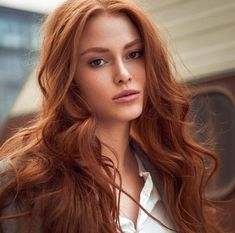 red hair ers, ing, 640 Posts - See Ins - bum Long Face Hairstyles, Chic Hairstyles, Feathered Hairstyles, Trending Hairstyles, Hair Color Auburn, Red Hair Color, Color Red, U Cut Hairstyle, Red Hair Brown Eyes